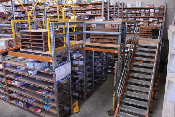 Mezzanine Floors Or Raised Storage Areas